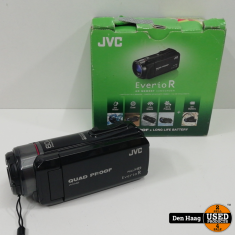 JVC GZ-R410 videocamera