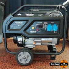 Hyundai HHDP35N OHV benzine generator 230V 3,1KW - Nieuw!