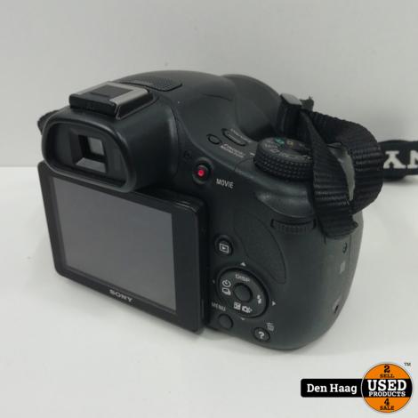 Sony Cybershot DSC-HX400V Zwart met tas!