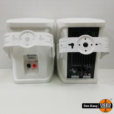 Audac LX503MK2/W 3-weg stereo luidsprekerset wit