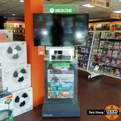 "Xbox One zuil + met Xbox One 500GB - 39"" Televisie - Kinect en demosoftware"