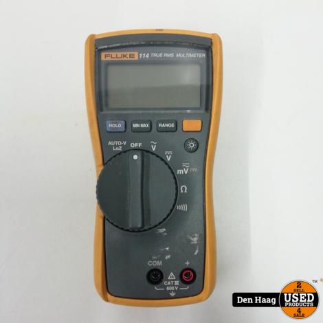Fluke 114 Elektrische True RMS-multimeter CAT III 600 V