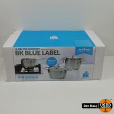 BK Blue Label pannenset - 4-delig *Nieuw*