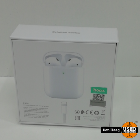 HOCO ES39 Draadloze Oordopjes - Alternatief AirPods - Bluetooth 5.0 Oortjes
