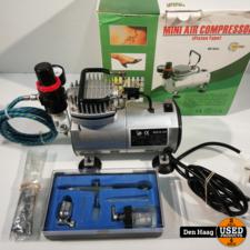 Mini Airbrush compressor Fengda AS18-2