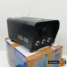 500W 0.5L RGB LED Wireless White Mist Maker Smoke Fogger Fog Dj Disco Laser