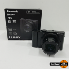 Panasonic Lumix DMC-LX15 - Zwart