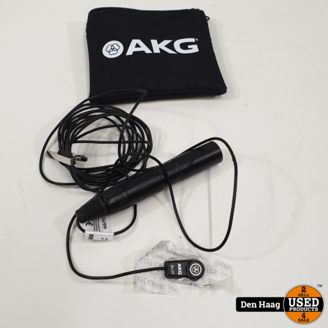 AKG Pro Audio C411 PP High-Performance Miniature Condenser Vibration Pickup for Stringed Instruments with MPAV Standard XLR Connector