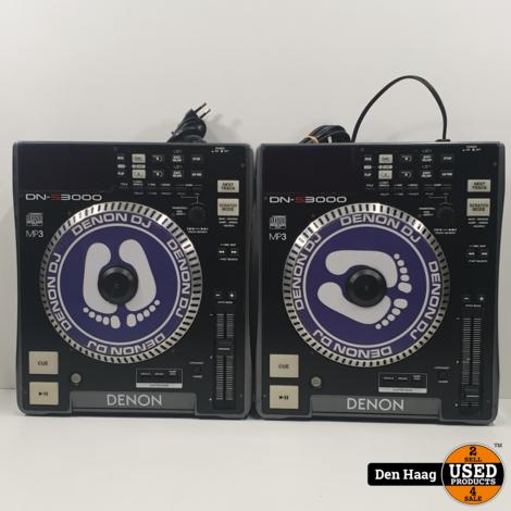 Denon dn-s3000 (2stuks)