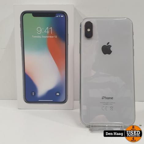 Apple iPhone X 64GB Wit