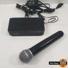 Shure BLX24E/PG58 K14 draadloze microfoon