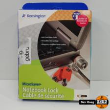 Kensington 64020 MicroSaver-Laptopslot Met Sleutel, Koolstofstaal En Snijbestendige Kabel, Vergrendelingsmechanisme Met T-Balk 2 stuks