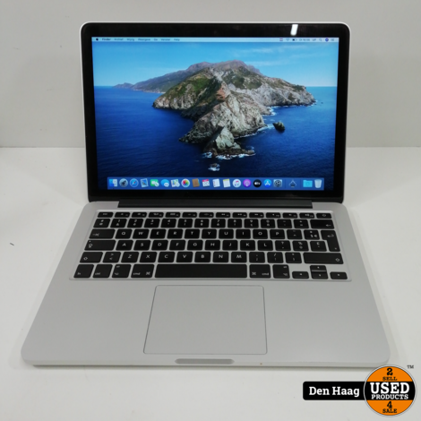 Apple Macbook Pro 13 inch model 2015, 256 SSD