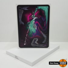 "Apple iPad Pro 11 inch (2018) 64 GB Wifi Space Gray ""Nieuw"""