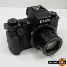 Canon PowerShot G5X Zwart Nieuwstaat!