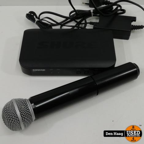 Shure BLX4 + draadloos microfoon set