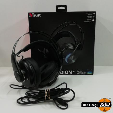 Trust GXT 383 Dion - 7.1 Vibration Gaming Headset - Zwart