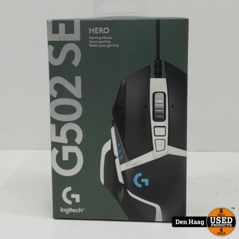 Logitech G502 HERO - Gaming Muis