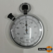 Hanhart - Mechanische Stopwatch - 1/100 sec - Chrome