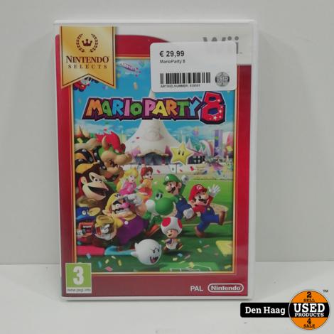 Nintendo Wii - Mario Party 8