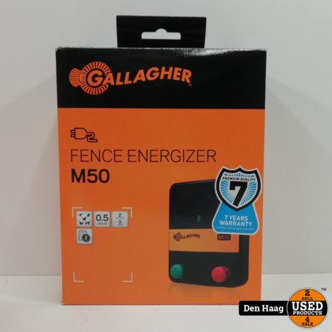 Gallagher M50 230V schrikdraadapparaat *Nieuw in doos*