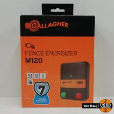 Gallagher M120 Schrikdraadapparaat *Nieuw in doos*