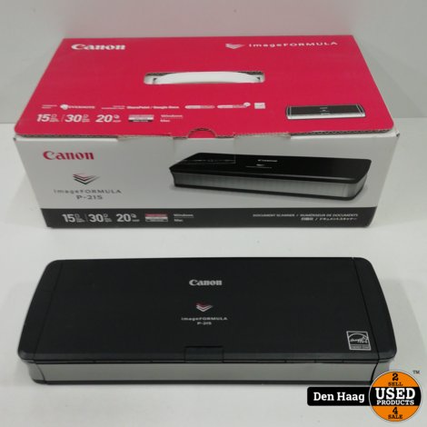 Canon imageFORMULA P-215 scanner
