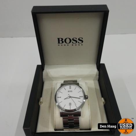 Hugo Boss Horloge Zilver | in nieuwstaat