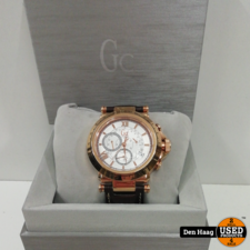 GUESS Gc B1-Class Leather Chronograph Mens Watch X44001G1