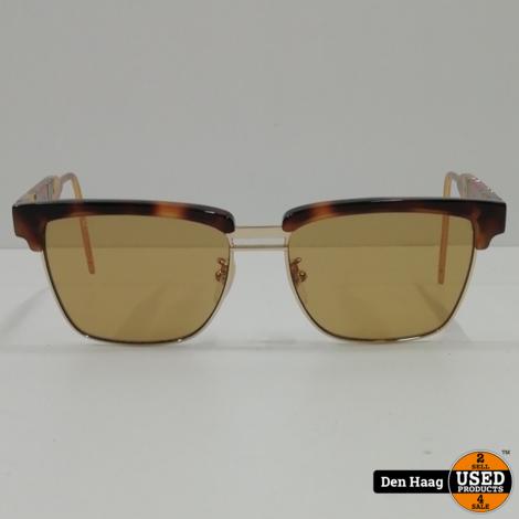 Gucci GG0603S HAVANA/BROWN 56/16/145 zonnebril (Lichte Krasjes op glas)