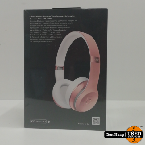 Beats Solo 3 Rose Gold Wireless on-ear-koptelefoon *Nieuw in doos*