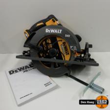 DeWalt DCS575NT 54V XR FlexVolt Li-Ion Accu cirkelzaag body in TSTAK - 190mm - koolborstelloos - DCS575NT-XJ (Nieuw)