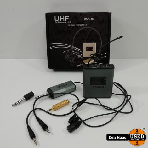 jissdo uhf wireless microphone