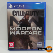 CALL OF DUTY MODERN WARFARE / PLAYSTATION 4 GAME