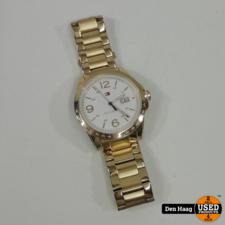 Tommy Hilfiger Horloge Goud