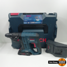 BOSCH BLAUW 0611911102 GBH 18V-21 Boorhamer 18 Volt 4,0 AH in L-Boxx