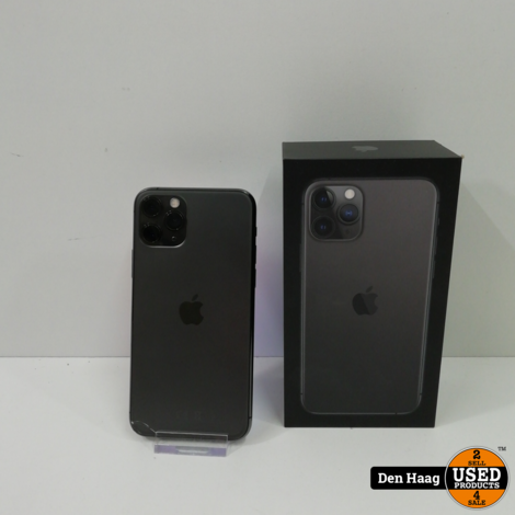 Apple iPhone 11 Pro 64GB (heel klein barstje in achterkant.)