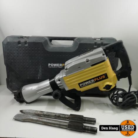 Powerplus POWX1186 Breekhamer - 1600 W - Incl. koffer met 2 beitels