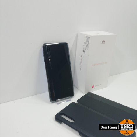 Huawei P20 Pro 128GB Black *Nieuwstaat*