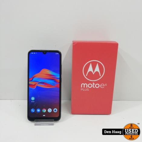 Motorola Moto E6 Plus Graphite