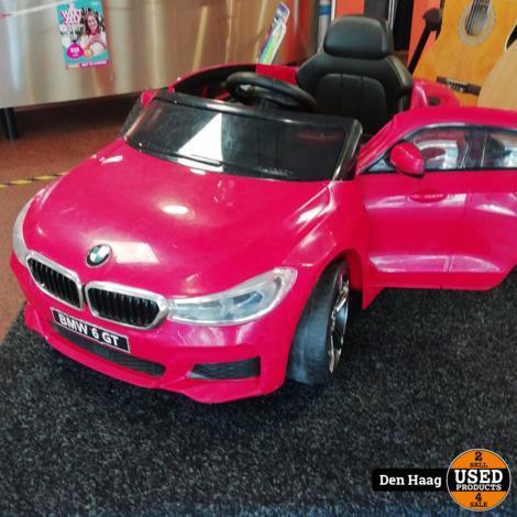 BMW 6 GT Kinderauto 12V + 2.4G Rood