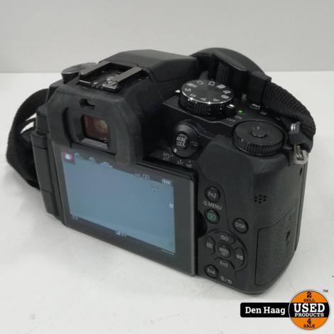 Panasonic Lumix DMC-G80 + 12-60mm f/3.5-5.6 Zwart