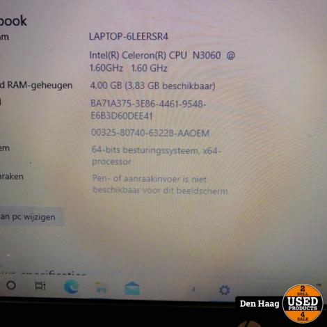 HP 17-X084ND Laptop Intel Celeron