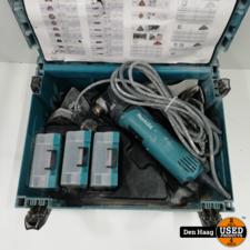 Makita TM3010C Multitool + hulpstukken