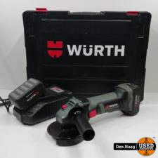 WURTH EWS 18-A/125mm Haakse Slijper