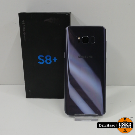 Samsung Galaxy S8+ 64GB Orchid Gray / Heeft geen Nederlands