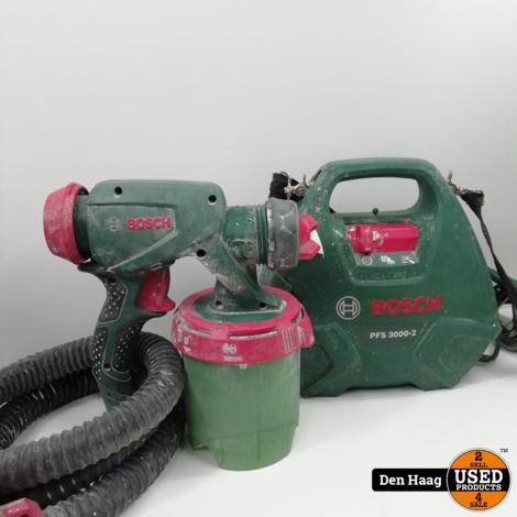 Bosch Home and Garden PFS 3000-2 Verfspuitsysteem 650 W Debiet (max.): 300 ml/min