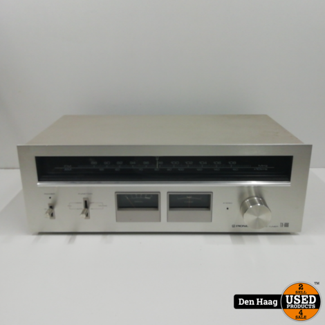 Pioneer TX-606 AM/FM Stereo Tuner (1978-79) Vintage
