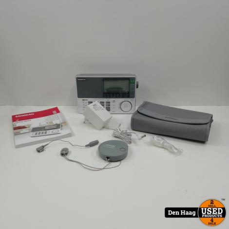 Sangean ATS909X - Draagbare wereldradio - Wit