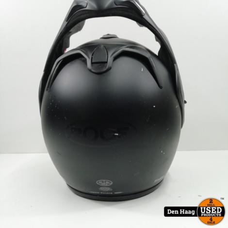 Roof Boxer V8 Full Black mat zwart   maat 61/XL